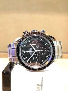 Brand New Omega Speedmaster Professional 311.30.42.30.01.006 Black Dial Winding Steel Casing Bracelet