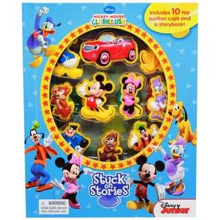 [Disney Mickey Mouse] Stuck on Stories -10 Disney Suction Cups and a Storybook