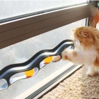 Cat Window Rail Toy