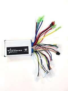 ***In-Stock = E-bike Scooter Brushless DC Motor Controller 48v-64v 350w with hall sensor