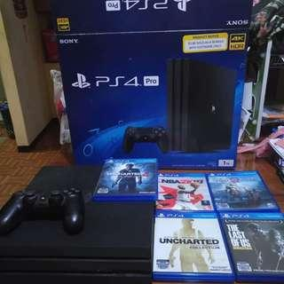 Sacrifice Sale PS4 Pro 1TB with Latest Games (NBA 2k18, Uncharted, and More)