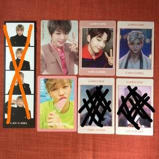 WTS Wanna One Kang Daniel Official Photocard
