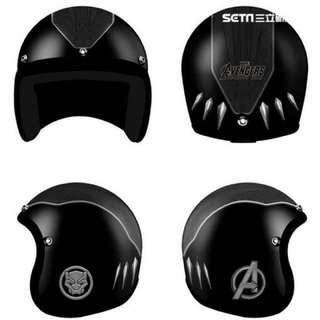 🚚 全家 X MARVEL 限量安全帽(黑豹款)