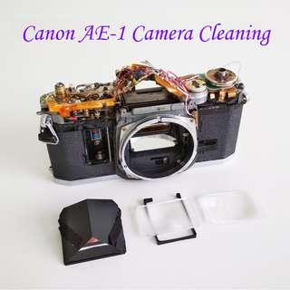 Camera Cleaning for Canon AE-1 AE1