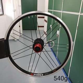 Litepro Kpro 349 16inch wheelset - 11speed ready