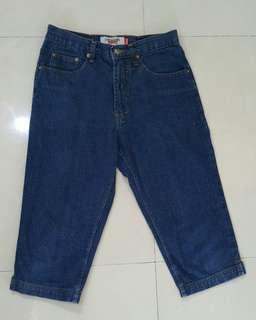 LOGO 3/4 Jeans (freeong Jabodetabek)