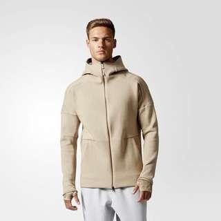 Adidas Z.N.E. Pulse Hoodie Beige Brown