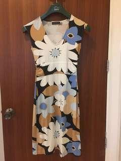 Giordano Ladies floral print dress
