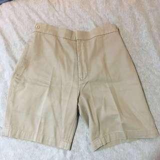 Khaki Bermudas shorts