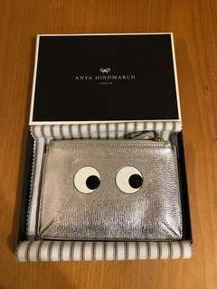 Anya Hindmarch Silver pouch
