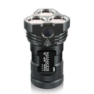 (Free Delivery) Manker MK34 8,000 Lumens LED Compact Seachlight/Flashlight