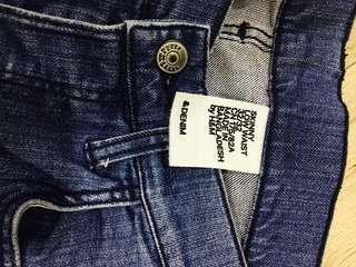 H&M LOW WAIST SKINNY JEANS (MAN)