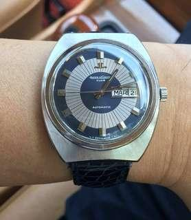 Sold ! Jaeger Lecoultre Club Day Date Automatic  movement Men vintage watch