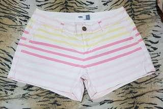 OLD NAVY fading colors casual shorts