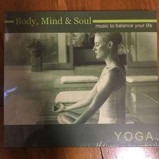 Body, Mind & Soul - Yoga ( CD )