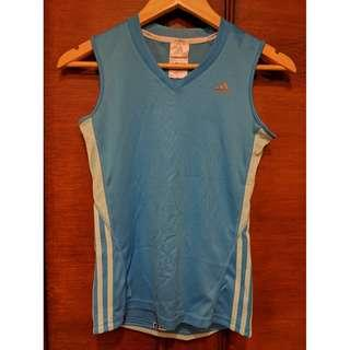 ADIDAS Climacool Blue Sleeveless Top