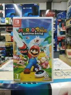 🆕 Nintendo Switcy Mario + Rabbids Kingdom Battle
