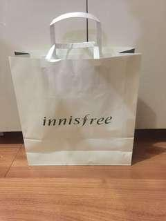 Paper Guft Bag Innisfree Tas Kertas Kado