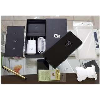 *典藏奇機*極新展示機-LG G6 5.7吋 IP68防水防塵/超強廣角雙鏡頭相機/QC3.0快充