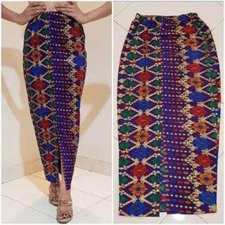 🚚 Batik instant skirt