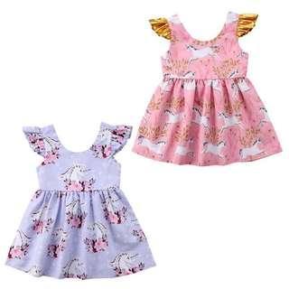 Ready Stock-Girl Dress