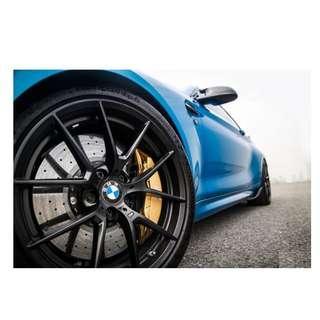 18inch SPORT RIM BMW M PERFORMAN E60 E39 E65 M4 WHEELS