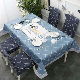 Tablecloth Set With Chair Cover