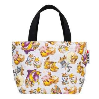 [PO] MINI TOTE BAG [FANS OF PIKACHU & EEVEE] - POKEMON CENTER EXCLUSIVE