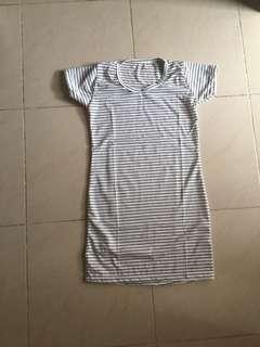 dress kaos stripe