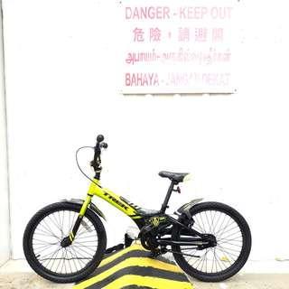 Trek Jet Series 20 inch Bmx Green Bike