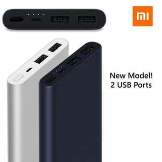 (Local Set) BNIB Sealed Xiaomi 10000mah Powerbank 2S Black