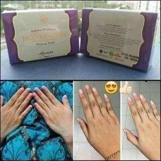 Authentic Honeyglow Facial & Body Bar soap PO