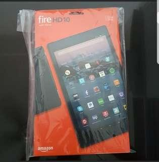 BNIB Sealed Kindle Fire HD10 Tablet Black