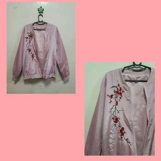 Bomber Jacket (baby pink)