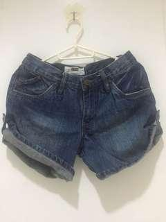 Korean branded denim shorts