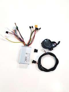 ***In-Stock = 48v 30A Controller + Throttle + 6 Pin Wire (1set) Brushless DC Motor AM TEMPO DYU FIIDO SW3 SW4 OEM
