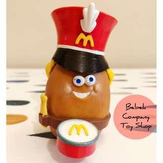 🥁絕版 1988年 McDonald's Mcnuggets 古董玩具 麥當勞玩具 麥克雞塊 雞塊寶寶 樂隊 麥當勞