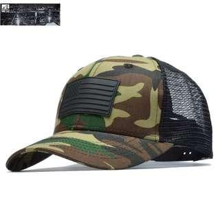 🆕! Green Tactical Camouflage US ARMY Trucker Cap  #OK