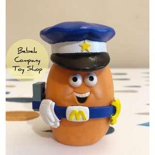 👮♀️絕版 1988年 McDonald's Mcnuggets 古董玩具 麥當勞玩具 麥克雞塊 雞塊寶寶 警察 麥當勞