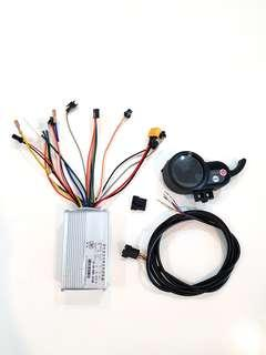 **In-Stock = 52v 30A Controller + Throttle + 6 Pin Wire (1set) Brushless DC Motor AM TEMPO DYU FIIDO SW3 SW4 OEM