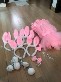 接新娘遊戲兔女郎衣服(5套)