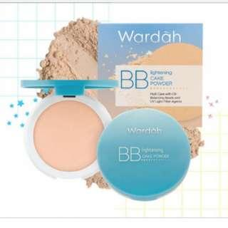 Wardah Lightening BB Cake Powder