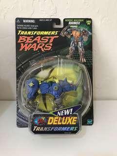 全新 美版 變形金剛 Transformers Beast Wars Transmetals Rhinox - Fox Repaint