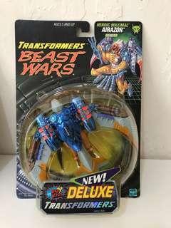 全新 美版 變形金剛 Transformers Beast Wars Transmetals Airazor - Fox Repaint