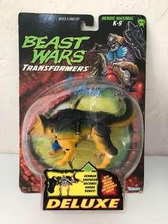 全新 美版 變形金剛 Transformers Beast Wars K-9