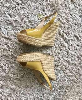 Authentic Jimmy Choo wedge shoes sandals