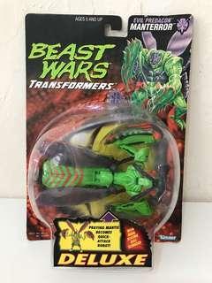 全新 美版 變形金剛 Transformers Beast Wars Manterror
