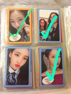 (WTS/WTT)Twice photocards