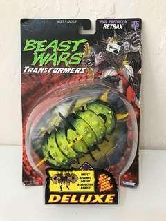 全新 美版 變形金剛 Transformers Beast Wars Retrax