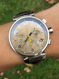 ((Sold)) (Full set) Louis Vuitton Tambour Automatic